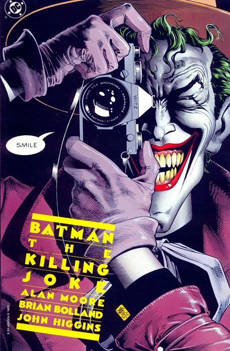 Killing Joke Cover by Brian Bolland