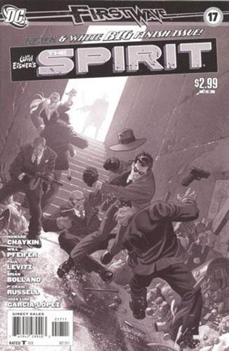 Spirit #17 by Brian Bolland