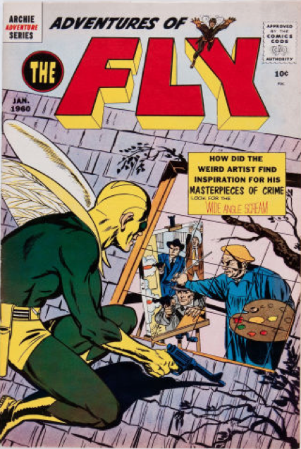 Adventures of the Fly #4. Not especially valuable, but very important in Neal Adams' career!