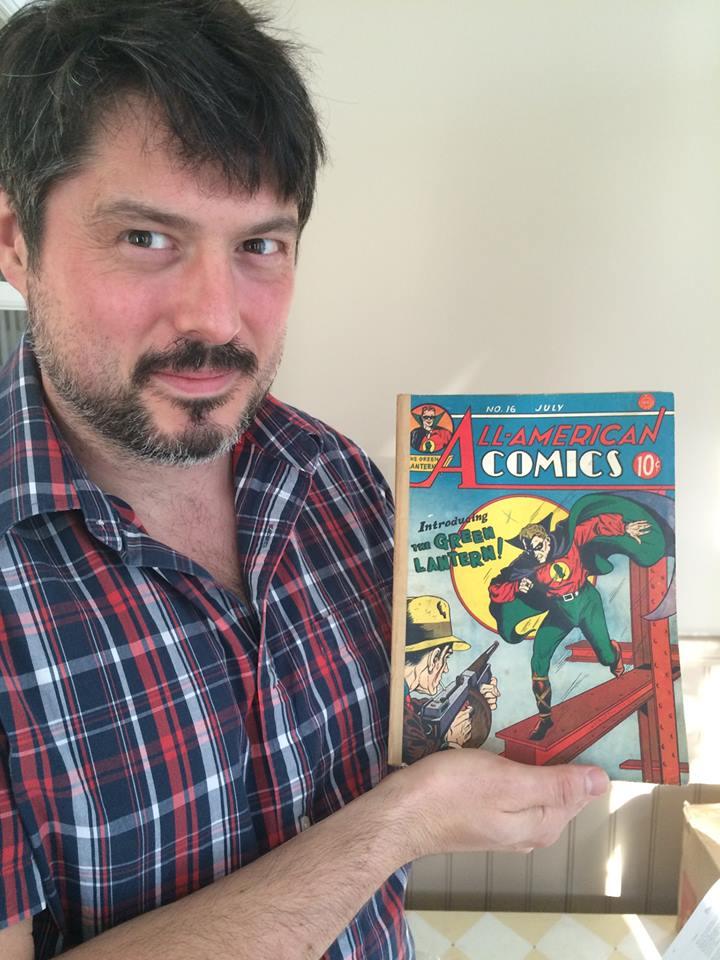 Ashley Cotter-Cairns, partner, Sell My Comic Art