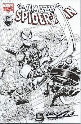 Neal Adams created this cool variant cover of Amazing Spider-Man #667 for the Montreal Comiccon. Click for value