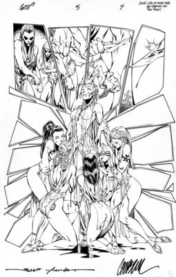 J. Scott Campbell Gen 13 Issue 5 Page 9