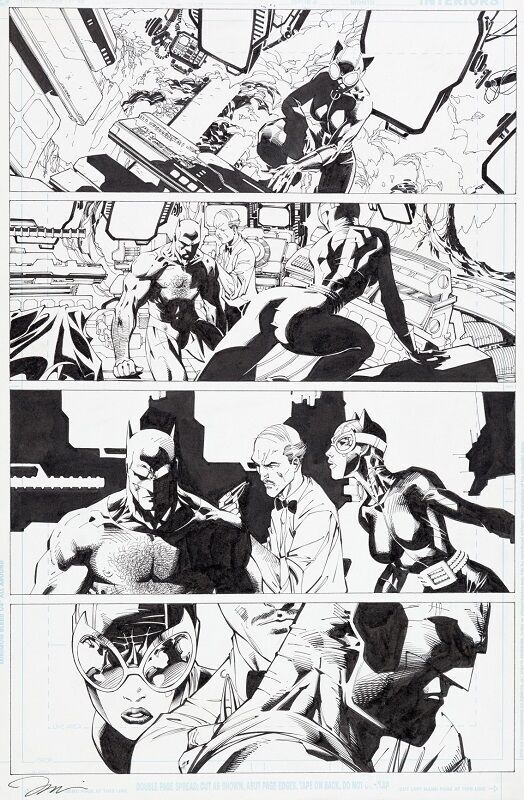 Wizard #0 / Batman #616A (Batman: Hush) page #1  Sold for: $13,145