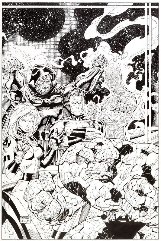 Cover art for Fantastic Four #6  Sold for: $17,925