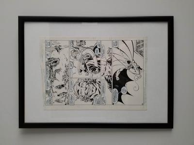 John Byrne Original Art, Legends issue #6 page 14
