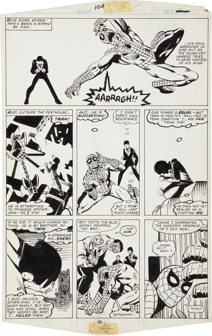 Frank Miller Comic Art Values on