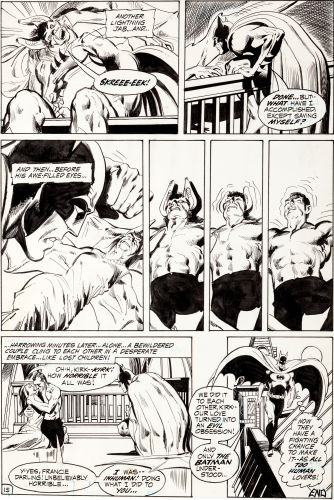 Detective Comics #407 page 15 by Neal Adams. Click to see value of Adams work