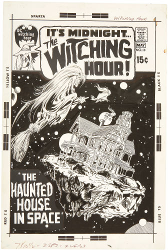 Cover art for Witching Hour #14 by Neal Adams. Click to see value of original Adams artwork
