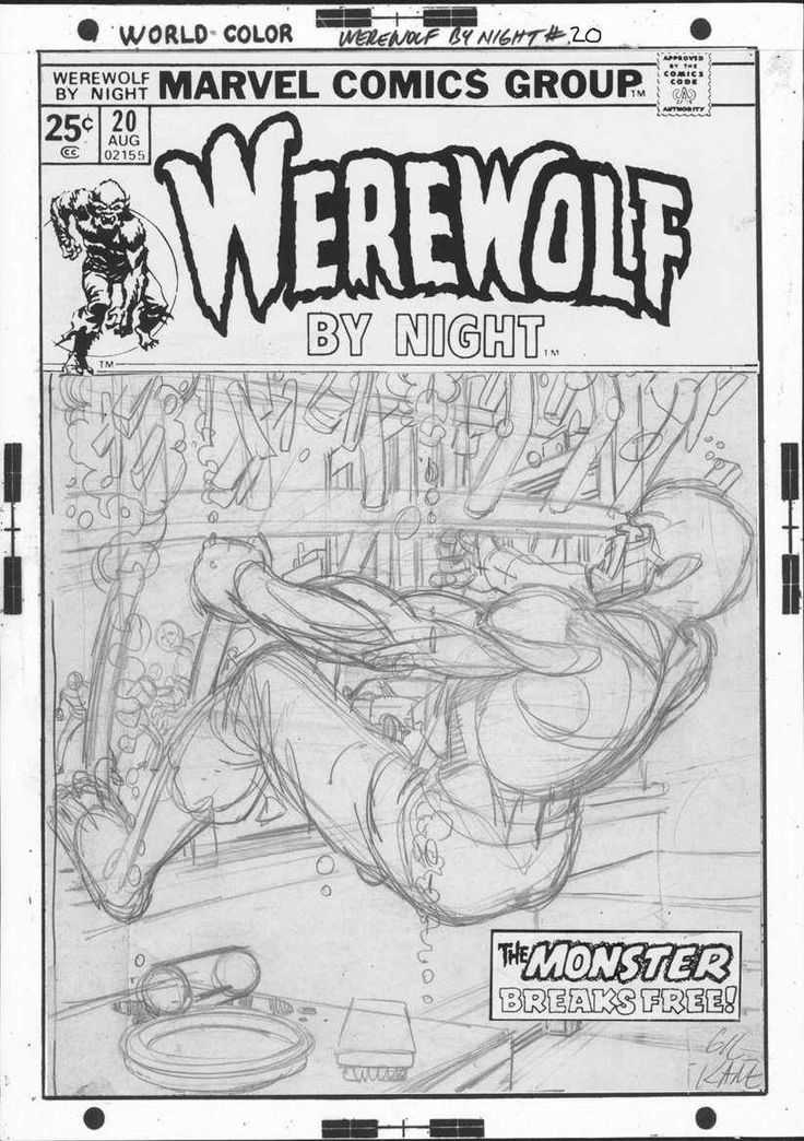 Preliminary (Prelim for short) – A roughly-drawn piece of original comic art that was done in advance of starting on a more detailed and finished production piece