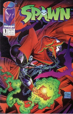 Spawn #1 is Todd McFarlane's first comic under the Epic banner. It sold over 1m copies. Click for values