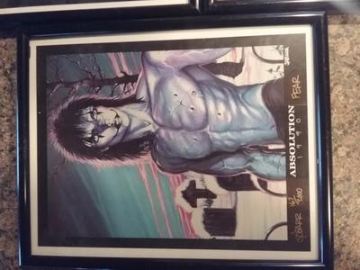 The Crow Portfolio Prints Signed Absolution 167 of 2000