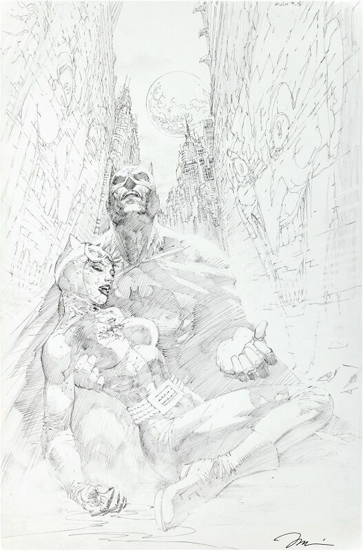 Batman #614 Page 15 (Batman: Hush)  Sold for: $11,950