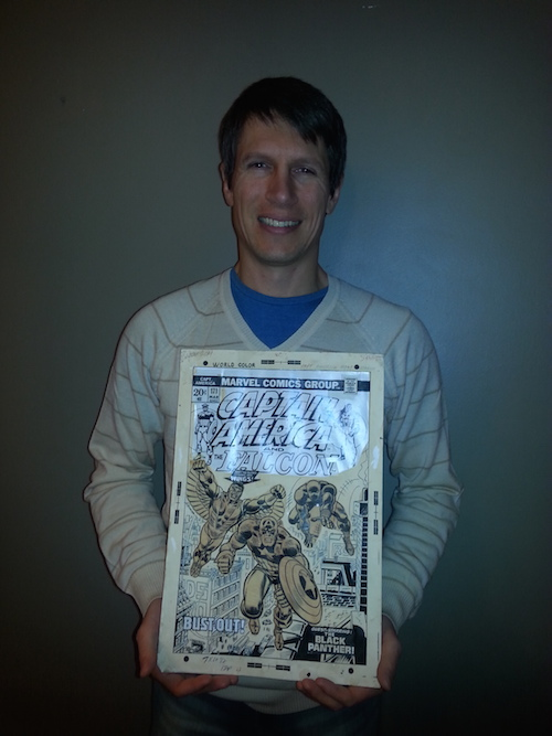 Sean Goodrich, partner, Sell My Comic Art